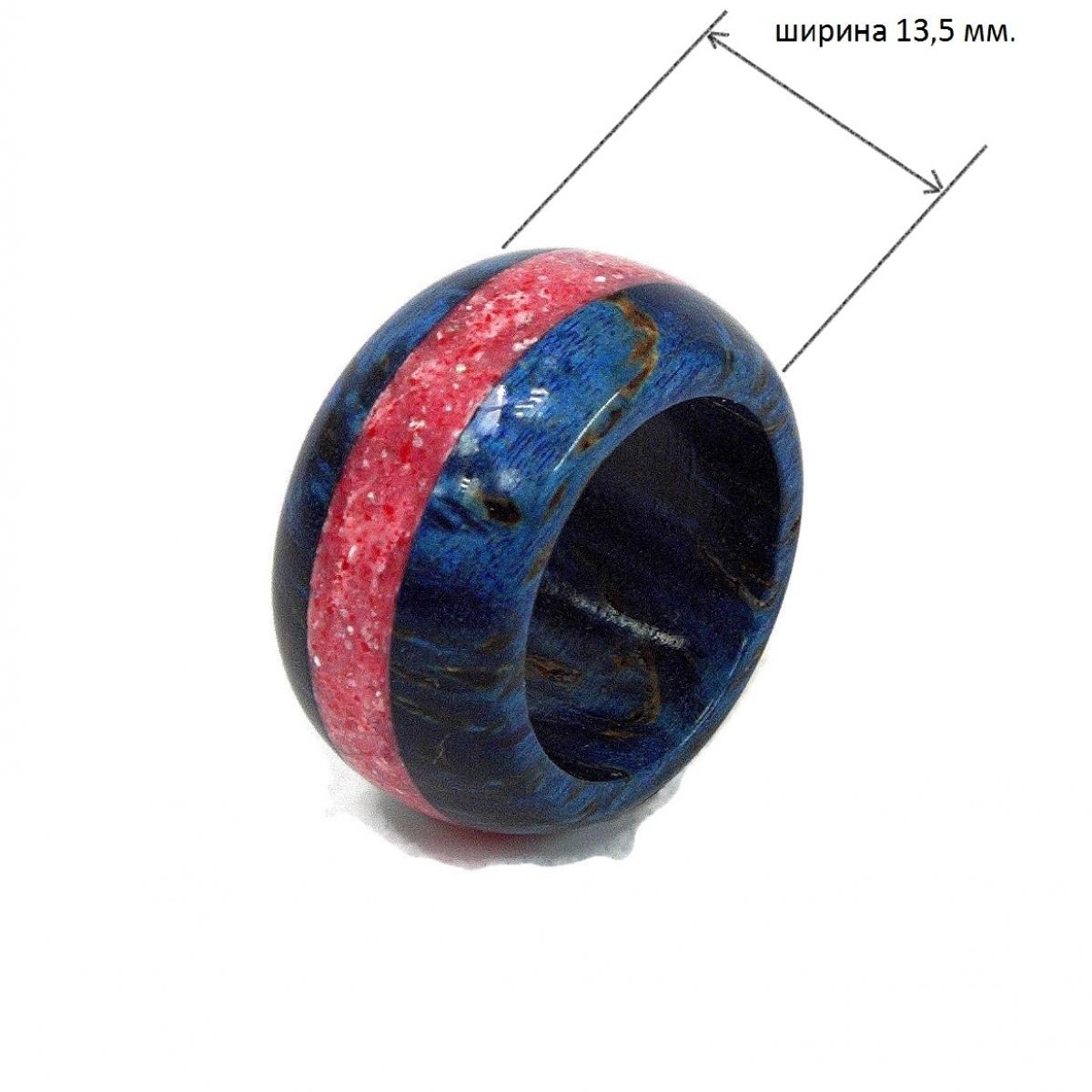 Кольцо из Карельской берёзы