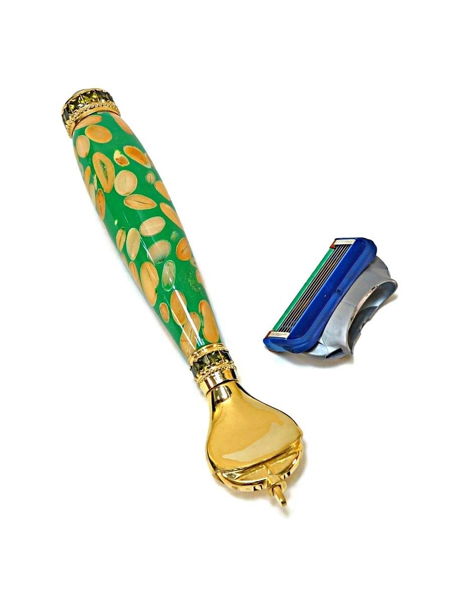 уникальная бритва из бобов фасоли